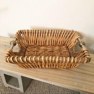 Boho Basket with Handles